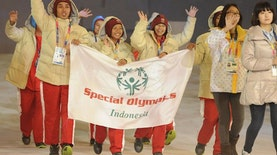 Indonesia Raih 19 Emas di Special Olympics World Games 2015