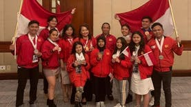 Delegasi Indonesia Panen Medali di WCOPA 2019
