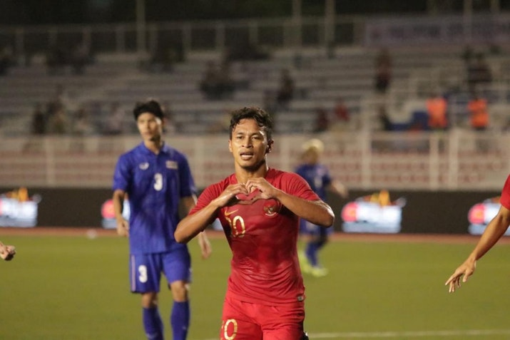 SEA Games 2019: Indonesia Menangi Laga Pertama Cabor Sepak Bola
