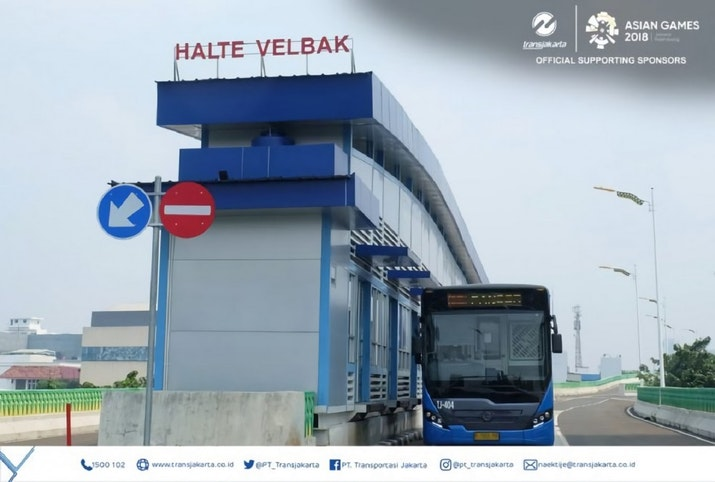 Pembukaan Halte Transjakarta Koridor 13 Velbak dan Rawa Barat, Mobilisasi Warga Ciledug dan Sekitarnya Makin Mudah!