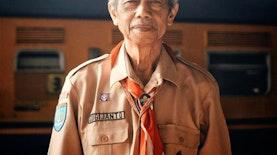 Inspirasi dari Jogja: Kisah Kakek Pramuka Kerja Siang Malam Tanpa Bayar