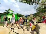Lantunan Gema 'Takbir' Hari Raya di Lembah Baliem