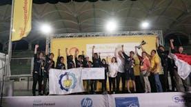 Tim Indonesia Raih Beberapa Juara di Shell Eco-Marathon 2019
