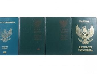 Evolusi Paspor Indonesia, Dari Masa ke Masa