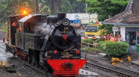 KAI Sukses 'Bangkitkan' Kereta Uap Lawas Buatan Jerman