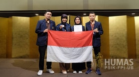 Mahasiswa UB Raih Silver Medal dalam Japan Design and Invention Expo 2018