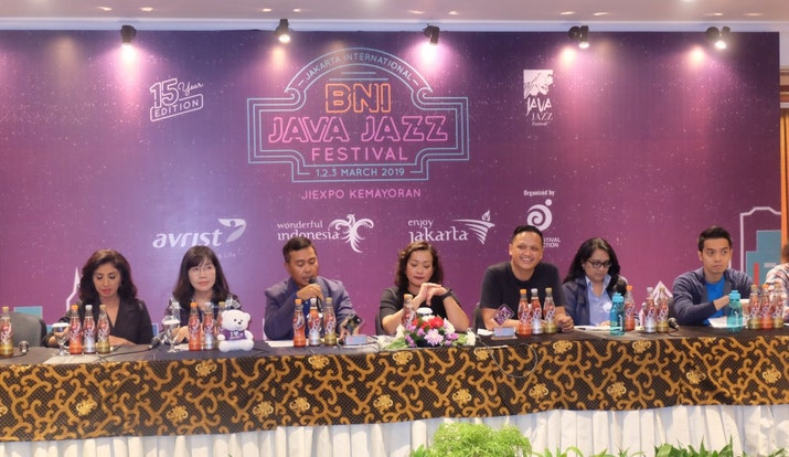 BNI Java Jazz 2019: 11 Panggung, 100 Penampil, dari 10 Negara