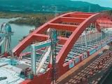 Gambar sampul Jembatan Holtekamp sang penghubung Jayapura dan Skouw