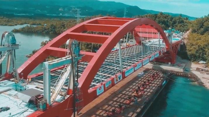 Jembatan Holtekamp sang penghubung Jayapura dan Skouw