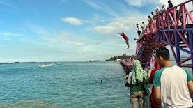 Jembatan Cinta Wisata Pulau Tidung | Pulau Seribu