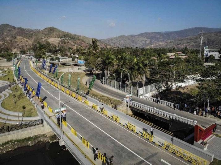 Jembatan BJ Habibie, Penghargaan dari Timor Leste untuk Habibie