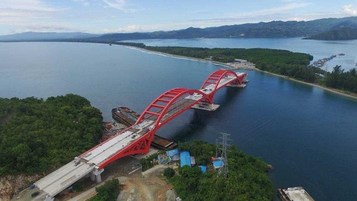 Ketika Proyek Infrastruktur Jadi Lokasi Wisata Baru