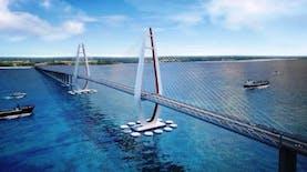 Inilah Bakal Jembatan Terpanjang di Indonesia. Di Mana ya?