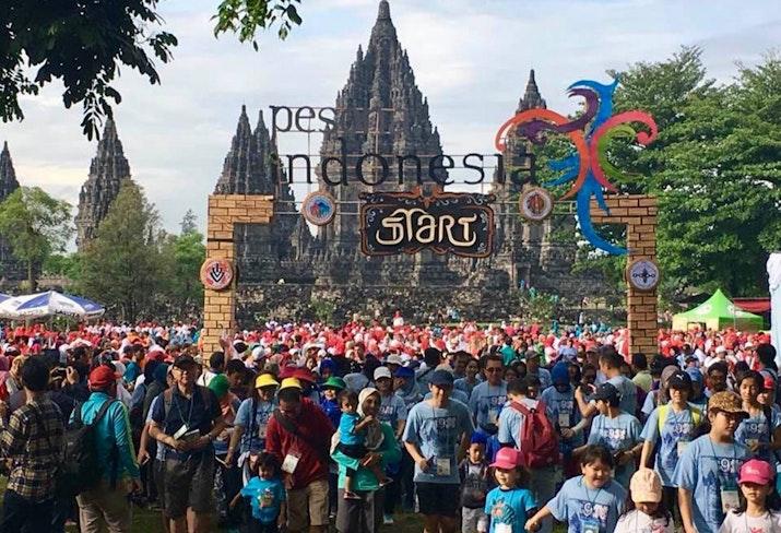 Yogyakarta punya event Jalan Kaki yang diakui Dunia