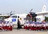 FOTO: Di Hari Pahlawan, Jokowi Resmikan Nama Nurtanio untuk Pesawat N219