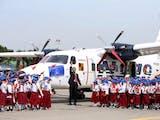 Gambar sampul FOTO: Di Hari Pahlawan, Jokowi Resmikan Nama Nurtanio untuk Pesawat N219