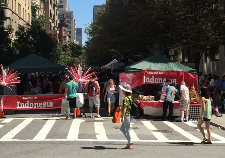 Journey to Indonesia, Festival Perayaan HUT RI ke-70 di New York