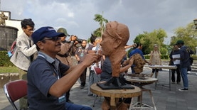 JSSP #3 Hadirkan Patung di Sumbu Imajiner Jogja