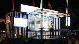 Kantor Polisi Dari Kontainer Bekas