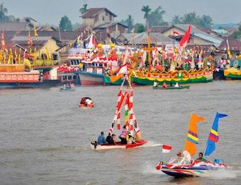 Karnaval Khatulistiwa Meraih Rekor Dunia