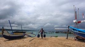 Kampung Nelayan Ini Bertahan di Pusat Turisme Bali