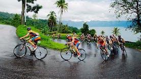 Kejuaraan Balap Sepeda di Sumatera Barat Menjadi yang terfavorit di Asia