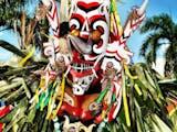 Gambar sampul Tarian Jelmaan dari Kalimantan