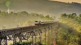 Jalur Kereta Terindah di Indonesia, Mudikmu Tidak Akan Membosankan