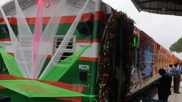 Kereta Api Buatan PT INKA Diluncurkan di Bangladesh