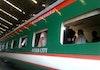 Hebat! Kereta Buatan Indonesia Ini Meluncur di Bangladesh