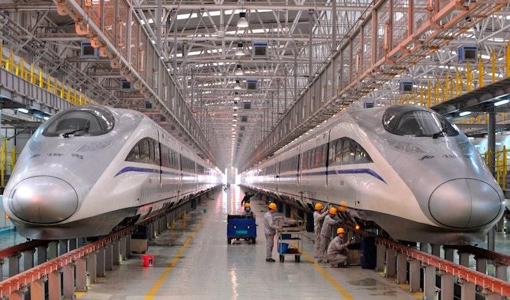 Mengintip Progres Kereta Cepat Jakarta-Bandung