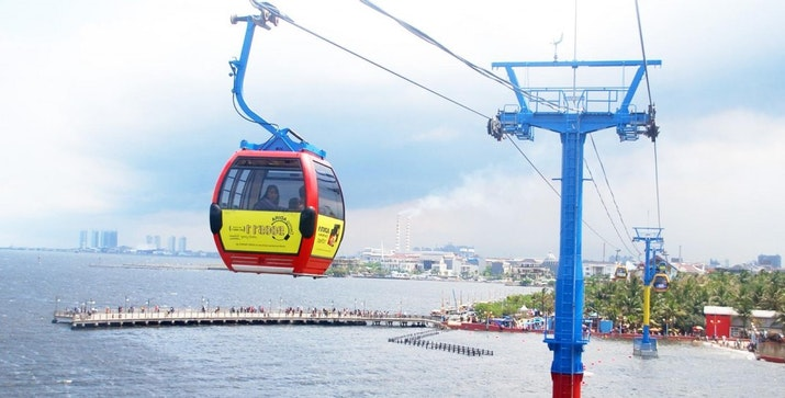 Mei 2019, Surabaya akan Resmikan Kereta Gantung di Dekat Suramadu