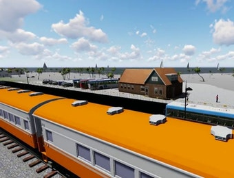Kereta Inspeksi Trans Sulawesi Buatan Anak Negeri