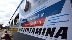 Satu-satunya di Asia Tenggara, Kereta Api Gunakan Bahan Bakar LNG