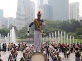 Gambar sampul Kirab Budaya KRI Bima Suci Pukau Warga Malaysia