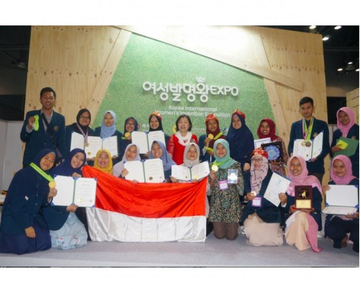 Inovator Universitas Brawijaya, Raih Gold Medal di Korea International Women's Invention Exposition (KIWIE) 2018