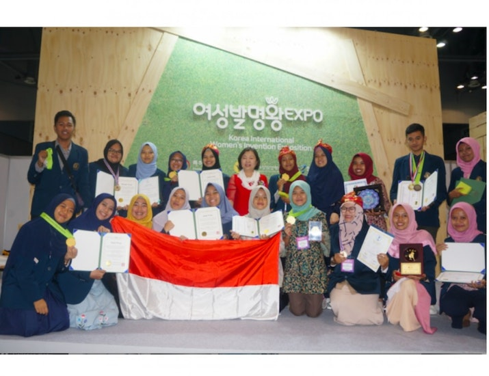 Inovator Universitas Brawijaya, Raih Gold Medal di Korea International Women's Invention Exposition (KIWIE) 2018