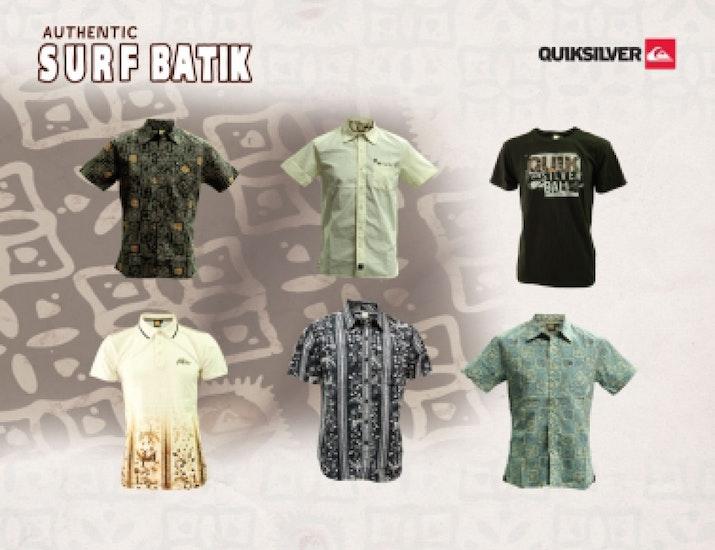 Koleksi Batik Quiksilver