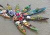 Menengok Pembuatan Jukung, Perahu Tradisional Kalimantan