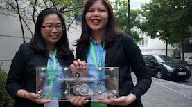 Konsep Kota Cerdas Duo Mahasiswi UI Raih Juara 2 di Perancis