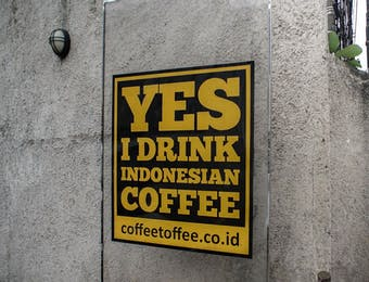 Coffe Toffee dan Impian Menduniakan Indonesia