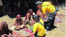 Menariknya Belanja di Pasar Kaget Tengah Hutan Belantara Wamena
