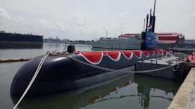 Kapal Selam Produksi Indonesia-Korea Selatan Resmi Diluncurkan