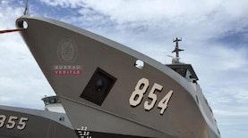 Tiga Kapal Patroli Buatan Dalam Negeri Perkuat Armada TNI AL