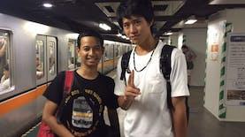 Siapa Sangka Persahabatan Jakarta - Tokyo Terjadi Karena Ponsel Hilang di KRL