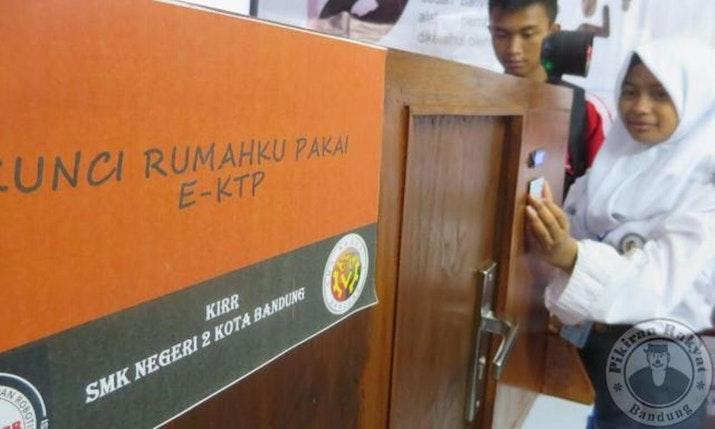 'Kunci Rumahku Pakai E-KTP' Buatan Anak Bangsa