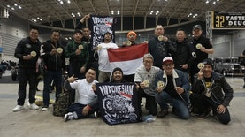 Tim KUSTOMFEST Indonesian Attack Gegerkan Panggung Kustom Kulture Dunia