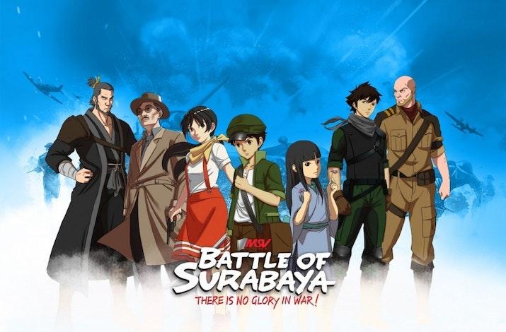 """Film Animasi """"Battle of Surabaya"""" Raih Penghargaan di Hollywood"""