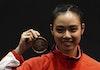 [FOTO] Lindswell Kwok, Sang Ratu Wushu Asia Tenggara Asal Medan