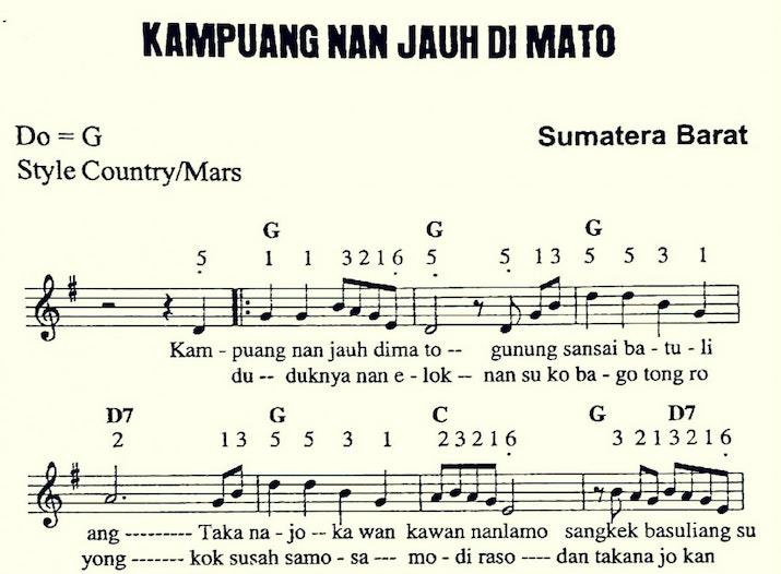 Makna-makna yang Terkandung dalam Lagu Minangkabau